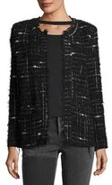 IRO Espo Long-Sleeve Open-Front Boucle Jacket
