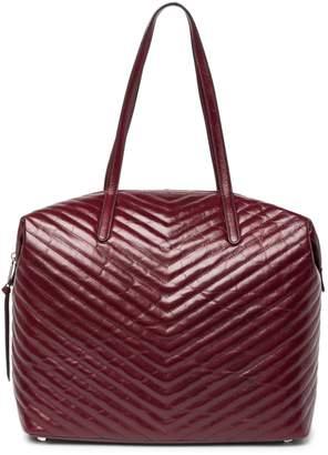 Rebecca Minkoff Stella Chevron Leather Tote Bag