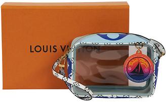 One Kings Lane Vintage Louis Vuitton Clear St. Tropez Small Bag - Vintage Lux