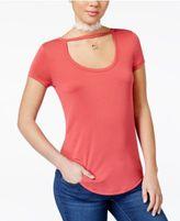 Almost Famous Juniors' Soft Scoop-Neck T-Shirt
