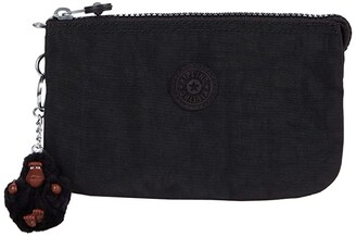 Kipling Creativity Large Pouch (Black Tonal) Wallet