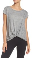 Zella Women's Twist & Breathe Slub Tee