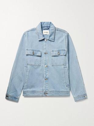 Nanushka Pax Denim Jacket - Men - Blue