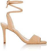 Loeffler Randall Women's Elyse Ankle-Tie Sandals-TAN