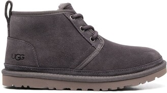 UGG Shearling-Lined Lace-Up Boots