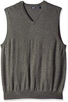 Izod Men's Big and Tall Fine Gauge Solid Sweater Vest