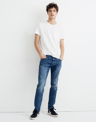 Madewell Selvedge Slim Jeans in Gerald Wash
