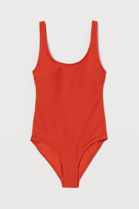 H&M Swimsuit with Padded Cups - Orange