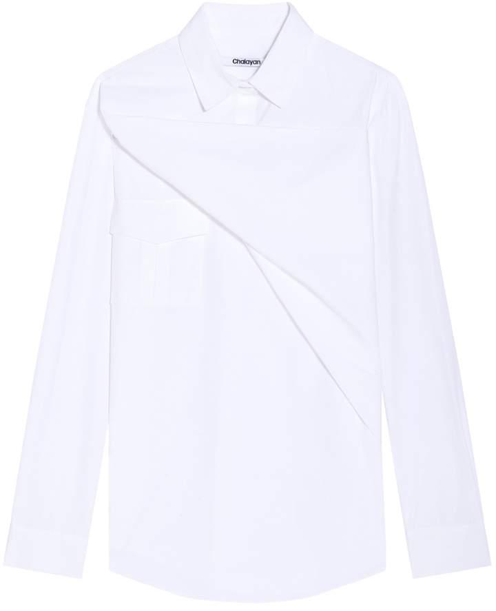Chalayan Triangle Overlay Shirt