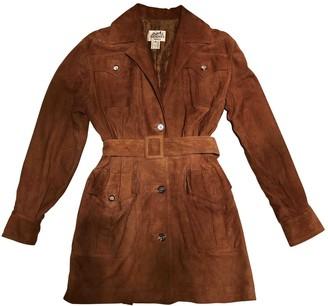 Hermes Brown Suede Jacket for Women Vintage