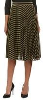 Why Dress Silk-blend A-line Skirt.