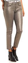 Calvin Klein Jeans Metallic Stretch Denim Skinny Ankle Jeans