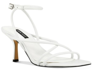Nine West Nolan Barely-There Strappy Sandals Women's Shoes