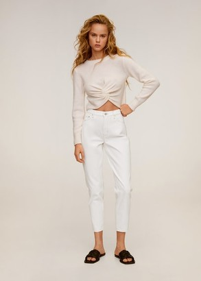 MANGO Mom-fit jeans white - 1 - Women