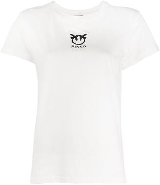 Pinko logo print T-shirt