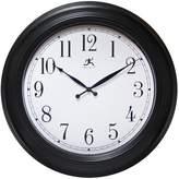 "Infinity Instruments Classic 24"" Wall Clock Black"