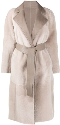 Blancha Reversible Wrap Coat