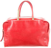 Lanvin Red Leather Handle Bag