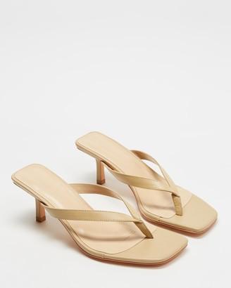 Atmos & Here Roman Leather Heels