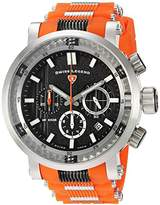 Swiss Legend Men's 'Dragonet' Swiss Quartz Stainless Steel Casual Watch (Model: 13838SM-01-OAS)