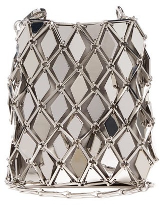 Paco Rabanne Iconic 1969 Chainmail Mini Cross-body Bag - Silver
