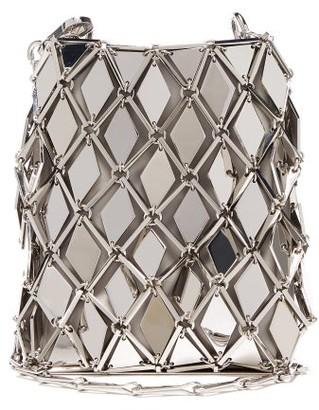 Paco Rabanne Iconic 1969 Chainmail Mini Cross-body Bag - Womens - Silver