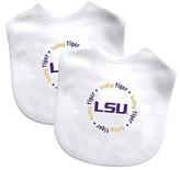 Baby Fanatic NCAA LSU Tigers Bib Set - 2 Pack