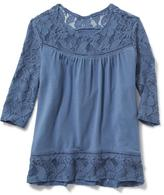 Old Navy Boho Swing Top for Girls