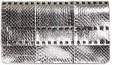 Valentino Garavani Rockstud Metallic Genuine Snakeskin Clutch