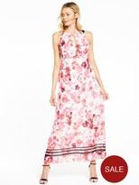 Wallis Pink Posie Maxi Dress