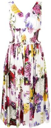 Dolce & Gabbana elasticated waist dress