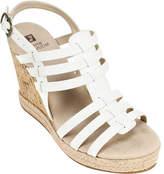 White Mountain Veronique Strappy Wedge Sandal (Women's)