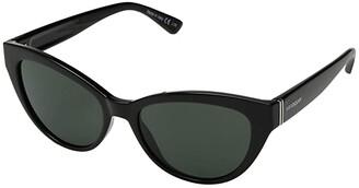 Von Zipper VonZipper Ya-Ya (Black Gloss/Vintage Grey) Fashion Sunglasses