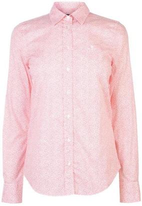 Gant Micro Floral Shirt Womens