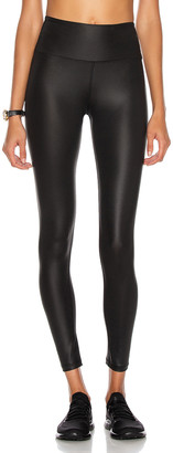YEAR OF OURS Shine Sport Legging in Black | FWRD