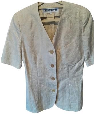 Cerruti Beige Cotton Jacket for Women Vintage