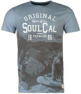 Soulcal Bear T Shirt Mens