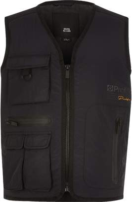 River Island Boys Black Prolific utility gilet