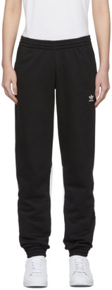 adidas Black Large Logo Lounge Pants