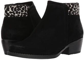 Eric Michael Aria (Black/Giraffe) Women's Boots