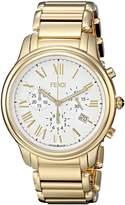 Fendi Men's F252414000 Classico Analog Display Quartz Gold Watch