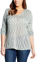 Via Appia Women's V-Neck Long Sleeve Jumper - Multicoloured -