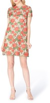 Tahari Petite Women's Floral Lace Shift Dress