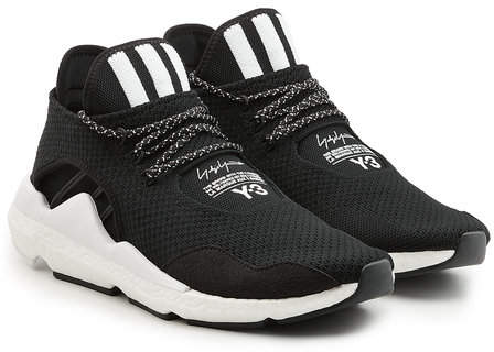 Y-3 Saikou Sneakers with Suede and Mesh