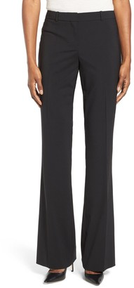 HUGO BOSS Tulea3 Tropical Stretch Wool Trousers