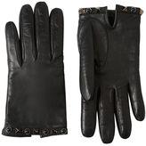 Valentino Rockstud Studded Nappa Leather Gloves
