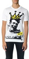 Dolce & Gabbana 'james Dean' Printed T-shirt