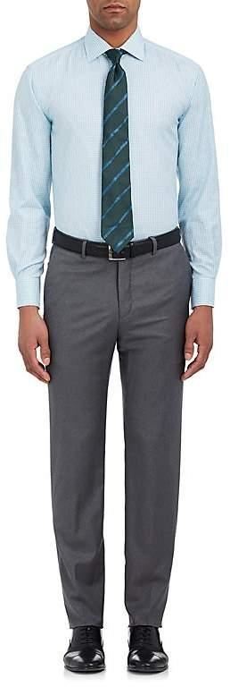 Barneys New York MEN'S TATTERSALL COTTON DRESS SHIRT