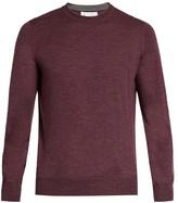 Brunello Cucinelli Crew-neck Wool And Cashmere-blend Sweater
