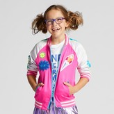 Cat & Jack Girls' Full Sleeve Bomber Jacket Cat & Jack - Pink